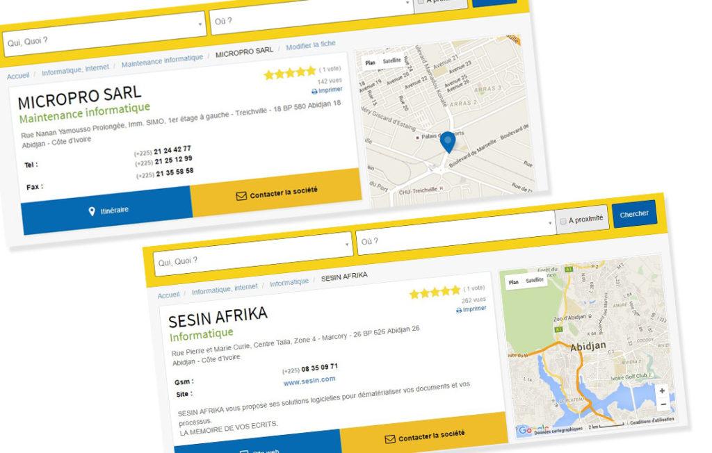 Avis entreprises afrique